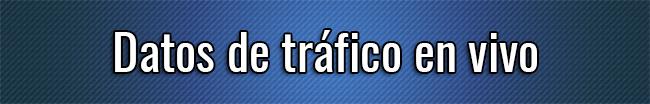 Datos de tráfico en vivo