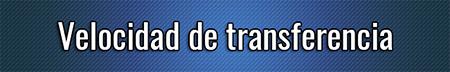 Velocidad de transferencia